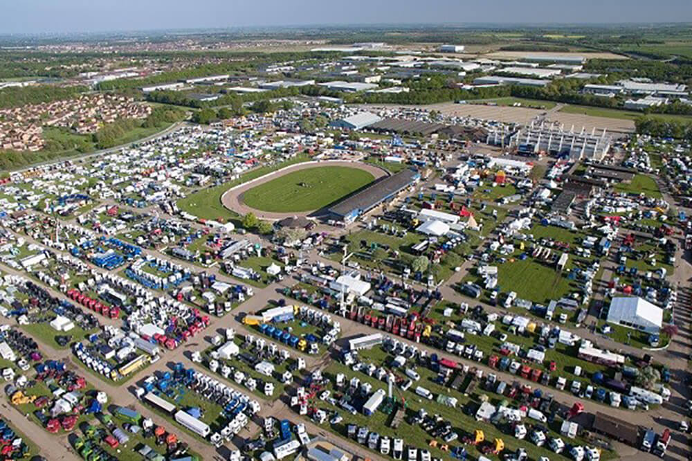 East of England Showground Arial Shot - East of England Agricultural Society