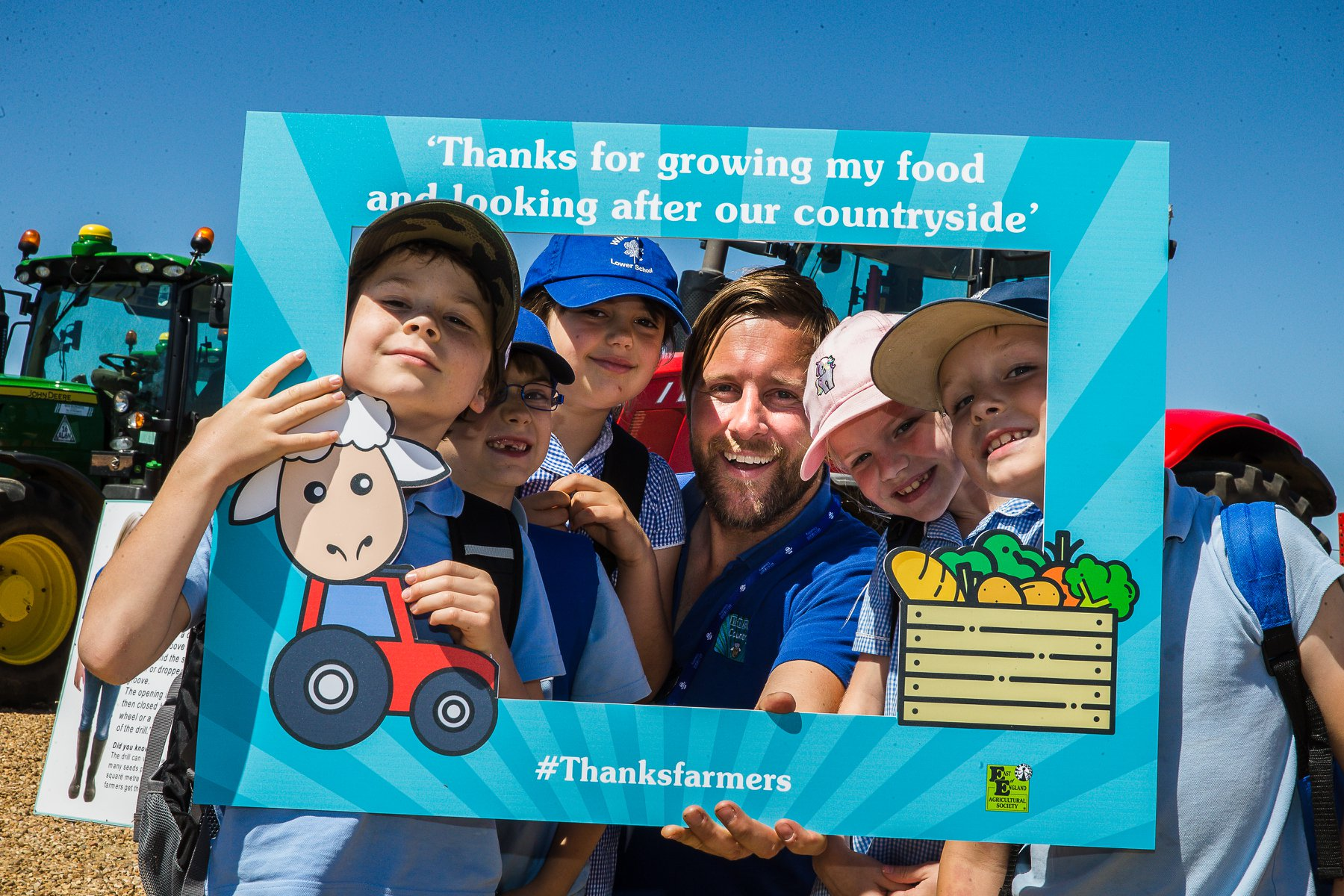Over 900 schools and homes take part in first ever Virtual Food and Farming Day!