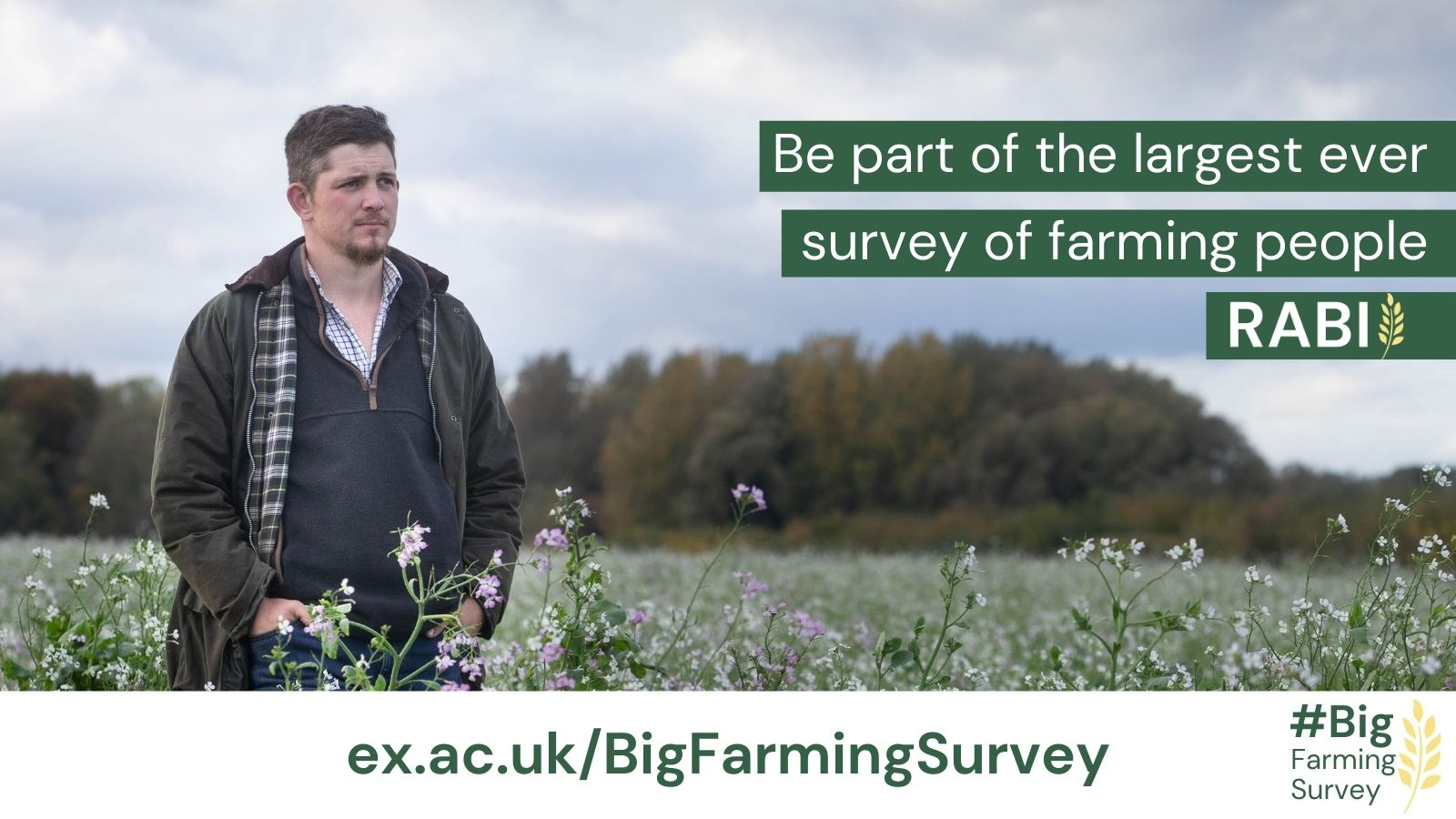 Take 15 minutes to complete the Big Farming Survey